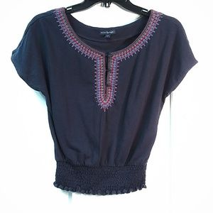 American Eagle Outfitters Top Blue Size XS|P